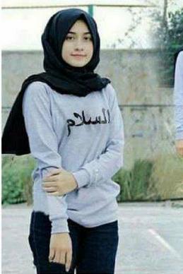 pakaian hijab casual