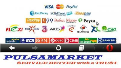 MINICHANGER PULSAMARKET , SERVICE BETTER with a TRUST