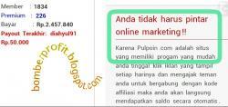 Pulsa Gratis dari Pulpoin, PTC Indonesia Terpercaya