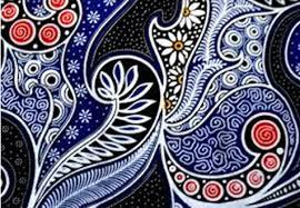 Proses Pembuatan Batik Kain Indonesia kegilaan warna