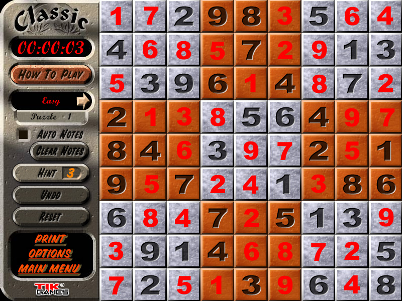 Manfaat Game Sudoku