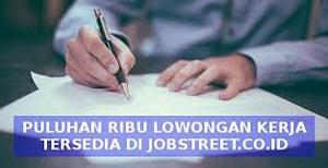 mencari lowker di jobstreet.co.id
