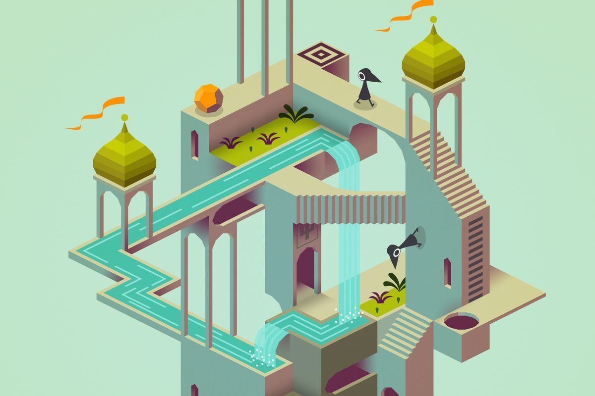 Strategi Game Monument Valley 2.