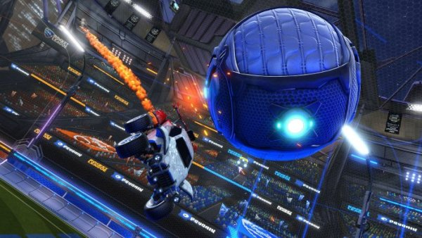 Bermain Rocket League