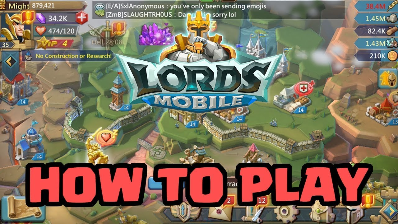 5 Hero Lords Mobile