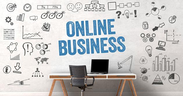 bisnis online scraf
