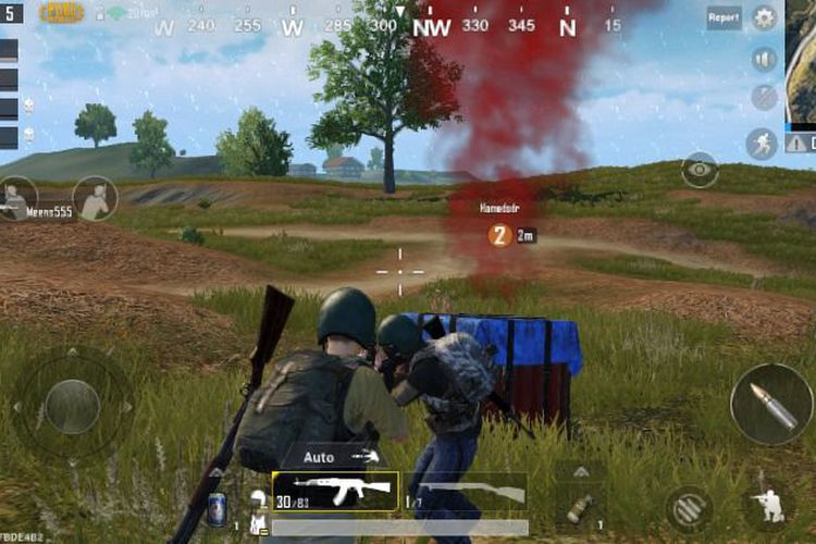 Game PlayerUnkown's Battlegrounds