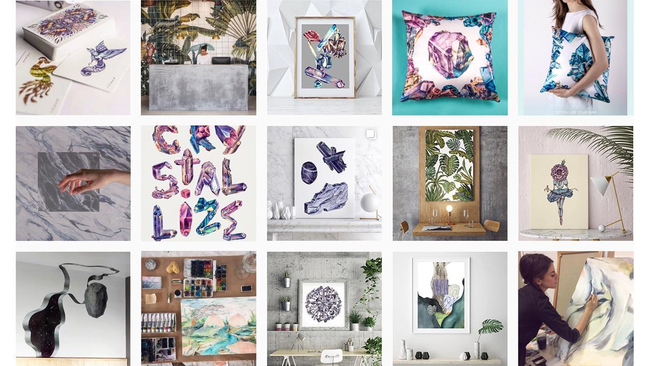 Menjual seni online
