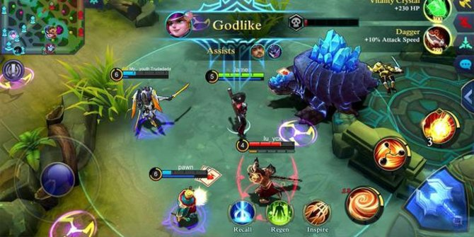 Manfaat Mobile Legends