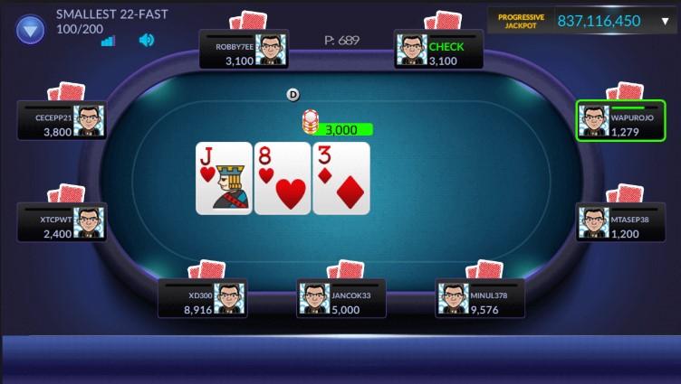 Komitmen Bandar Poker