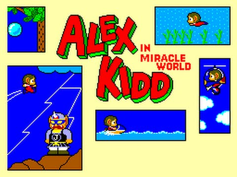 Game Alex Kidd